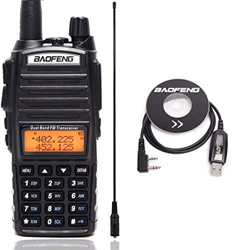 Check Out This BAOFENG UV-82 Plus 8 Watts High Power Dual Band VHF/UHF 136-174/400-520MHz Ham CB Ama...