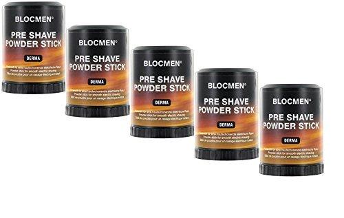 5 X BLOCMEN© Derma Pre-Shave