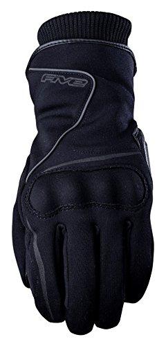 Cinco avanzada guantes Estocolmo impermeable adulto guantes, negro, tamaño 08