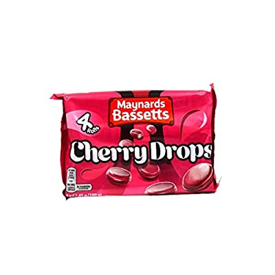 maynard bassetts cherry drops 4 pack, 4 x 45g Maynard bassetts Cherry Drops 4 Pack, 4 x 45g 41o2PUGfT L