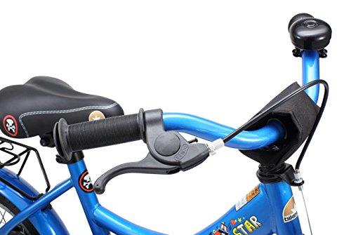 BIKESTAR Kinderfahrrad für Mädchen und Jungen ab 3-4 Jahre | 12 Zoll Kinderrad Classic | Fahrrad für Kinder Blau - 6