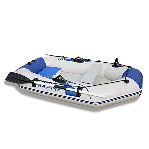 Hinchables Engrosada Barco Inflable Kayak 2/3/4 Persona Embarcación a Motor del Bote...