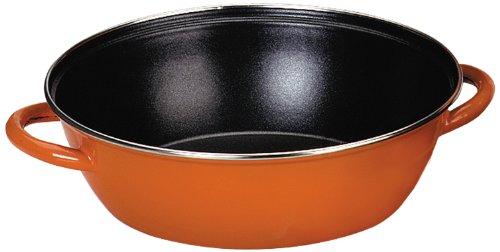 IBILI 916736 - Sartén Honda con 2 Asas, 36 cms, Color Naranja