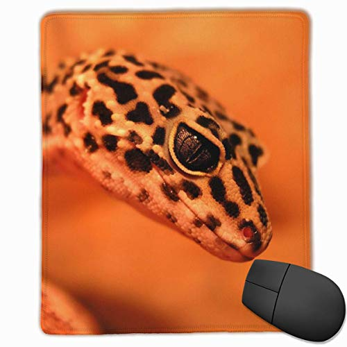 Glatte Mauspad Rot Little Gecko Mobile Gaming Mousepad Arbeitsmaus Pad Office Pad