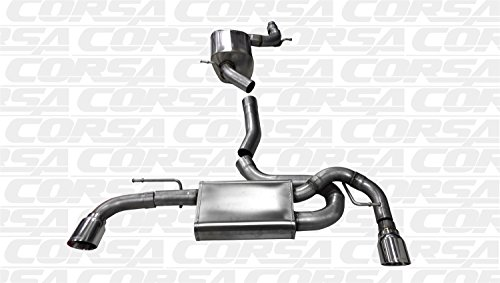 Corsa 14491 Cat Back Exhaust (VW Golf GTI MK6 2.0L Turbo)
