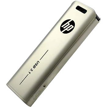 【Amazon.co.jp 限定】HP USBメモリ 64GB USB 3.1 スライド式 金属製 HPFD796L-64 GJP