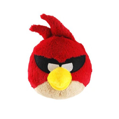 Peluche Angry Birds Space 40 cm Rouge
