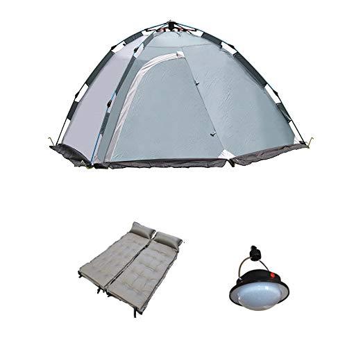 CRSD Tenda da Campeggio, Duo Automatico a Doppio Strato, Zaino Leggero a Due Porte Impermeabile per Esterno, Escursionismo Alpinismo Viaggi