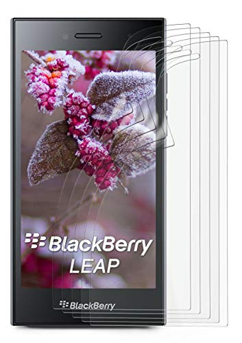 MoEx® Matte Anti Reflex Bildschirmschutzfolie passend für BlackBerry Leap   Gegen Reflexionen und Fett-Finger - Entspiegelt