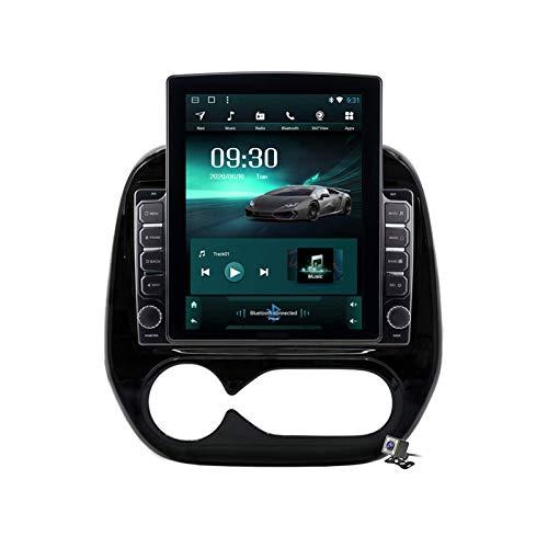 Estéreo para coche Android 9.0, Radio compatible con Renault Captur Kaptur AC / MC 2011-2019 Navegación GPS Unidad principal de pantalla vertical de 9,7 pulgadas Reproductor multimedia MP5 Video con