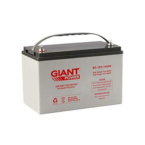 Giant Power 140AH 12V AGM Deep Cycle Battery