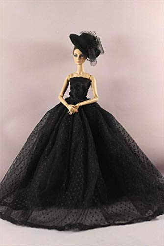 ZSMD 30 cm Doll Dress Fashion Clothes Handmade Outfit for Barbie Doll Accessories Baby Toys Best Girl' Gift