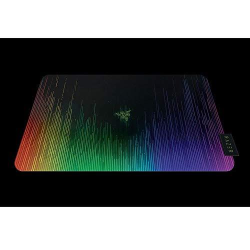 Razer Sphex V2 Mini - Alfombrilla de ratón Gaming Ultra Fino para sensores láser y ópticos, Superficie de policarbonato y diseño Chroma