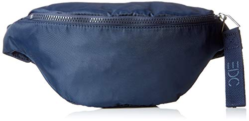 edc by Esprit Accessoires Damen Teresa Belt Bag Umhängetasche, Blau (Navy), 12x18x28 cm
