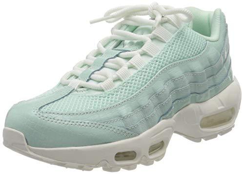 Nike Damen WMNS AIR MAX 95 Premium Traillaufschuhe, Blau (Igloo/Summit Bianco/Clay Verde/Igloo 300), 37.5 EU