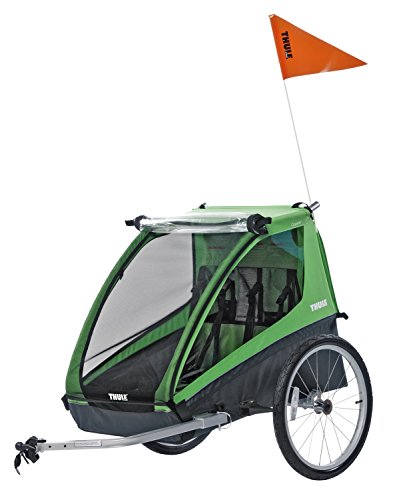 Thule Cadence Child Bicycle Trailer (1-2 Children), Green, One Size