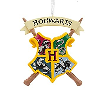 Hallmark Christmas Ornaments Harry Potter Hogwarts Crest Ornament