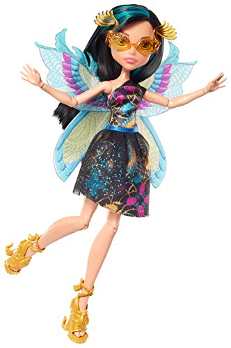 Monster High- Ninfas con alas - Cleo de Nile...