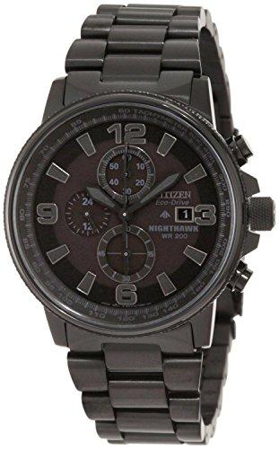 [シチズン]CITIZEN 腕時計 PROMASTER NIGHTHAWK ECO-DRIVE プロマスター エコドライブ クロノグラフ CA0295-58E メンズ [逆輸入]