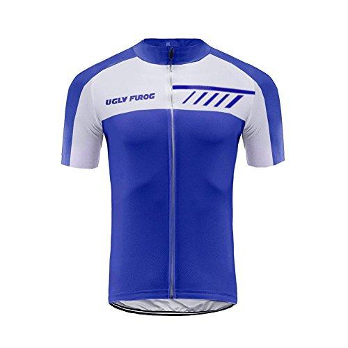 Uglyfrog Abbigliamento Ciclismo Uomo Asciugatura Veloce Maglia Manica Abbigliamento da Ciclismo Abbigliamento Sportivo da Equitazione DXC02