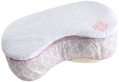 Bliss Nursing Pillow Quilted Slip Cover, Damask