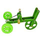 Balacoo Juguete para adiestramiento mini bicicleta juguete de juegos para pájaros divertido material para adiestramiento para periquitos Ara Conures (verde)