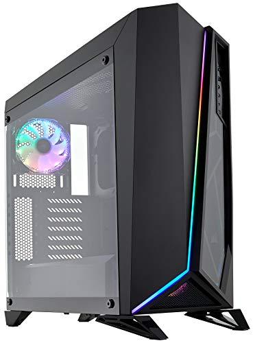 Corsair SPEC-OMEGA RGB Case da Gaming Mid-Tower ATX con Vetro Temperato, Nero