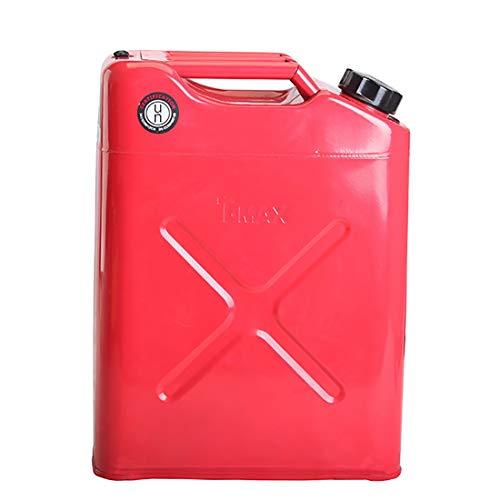 IOFESINK HOME Metall/Stahl KANN Anzüge Kraftstoff Diesel Benzin, Hochleistungsbenzinöl Kraftstoff Benzinbetriebene Ausrüstung, Eingebautes Einfüllrohr (10L, 20L) (Size : 20L)