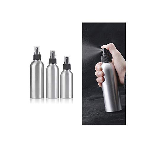 1pcs vaciar 30ml/50ml/100ml/120ml/150ml Botellas de Aluminio Aerosol de Perfume Mini Botella de Spray Reutilizable cosmética atomizador,250ml