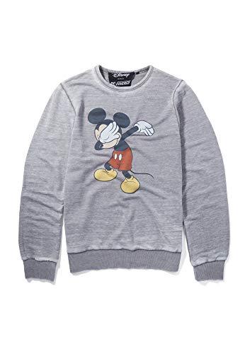 Sudadera Disney Mickey Dabbing Charcoal de Re:Covered