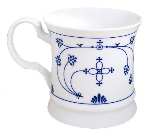CUP+MUG Kaffeebecher Indisch Blau Porzellan
