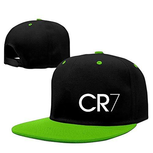 Youaini Custom Adult CR7 Logo Adjustable Hip Hop Hat & Cap