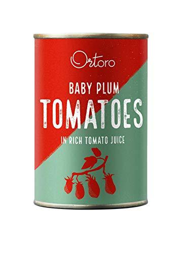 Ortoro - Pomodori datterini, 400 g, confezione da 12