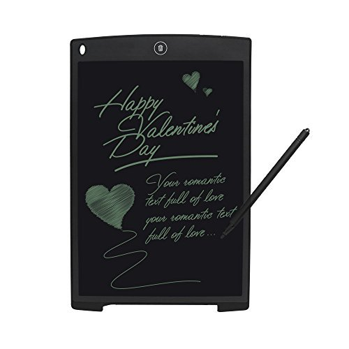 LCD Writing Drawing Tablet - 12 Inch Handwriting Drawing Sketching Graffiti Scribble Doodle Board eWriter,Great Gift for Kids (12 inch)