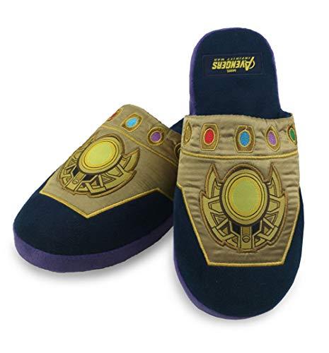 Marvel Zapatillas de deporte sin cordones Mule adultas Avengers Thanos Gauntlet - Talla única