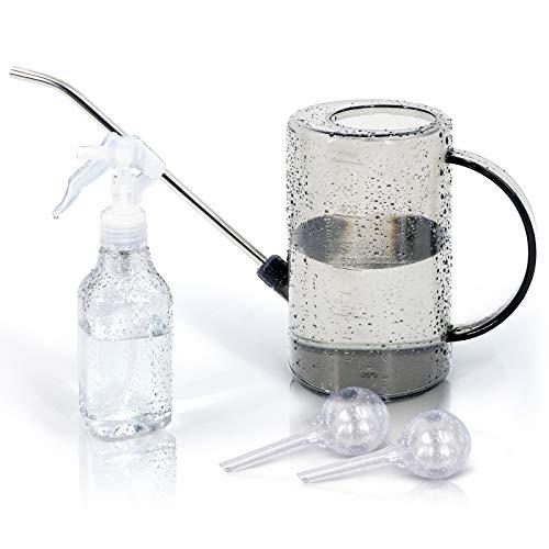Jardineer Wasser kann setzen, Long Spout Gießkanne mit Messungen, Gießkanne Indoor Outdoor, Sprühflasche, Pflanzengießkugeln für Gartenhauspflanzen