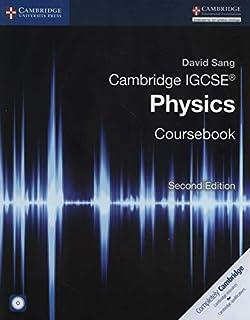 Cambridge IGCSE Physics Coursebook Second Edition by David Sang - Mixed Media