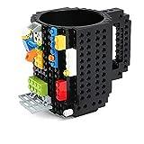 Accesorios Cocina Molde Taza De Café Creativa De 4 Colores Taza De Café Tazas De Taza De Ladrillo Incorporadas Soporte De Agua Potable Para Diseño De Bloques De Construcción Lego, Negro, China