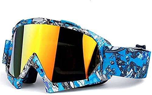 Motocross Goggles Motorcycle Anti-scratch For MX ATV Off Road Dirt Bike Racing Glasses Helmets Goggle Gafas Casco Men Women Automotive Ski Skating Eyewear 828
