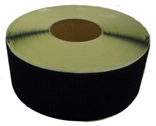 クラレファスニング 粘着付 マジックテープA面フック 幅100mm 長さ25m 黒 箱入り