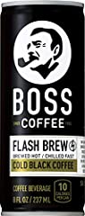 MEET THE NEW FLASH BREW - Temperature is high when we brew then chilled rapidly to create an authentic 'flash brew' coffee. This allows for a bolder flavor with a smoother aftertaste without negative bitterness READY TO DRINK COFFEE - For the on-the-...