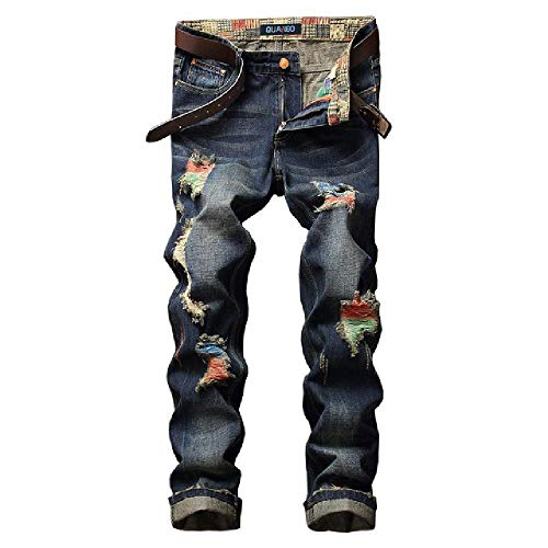 Primavera Verano Jeans Delgados nuevos Hombres de Moda Jeans menpants Ropa Nueva fashion28-38