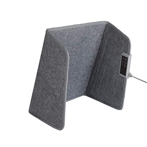 SH-JTL onder bureau, draagbaar, voetenwarmers met 3 snelheidsniveaus, inklapbaar, drie zijden, inklapbaar, warm, geschikt voor benen, ECC-rug.