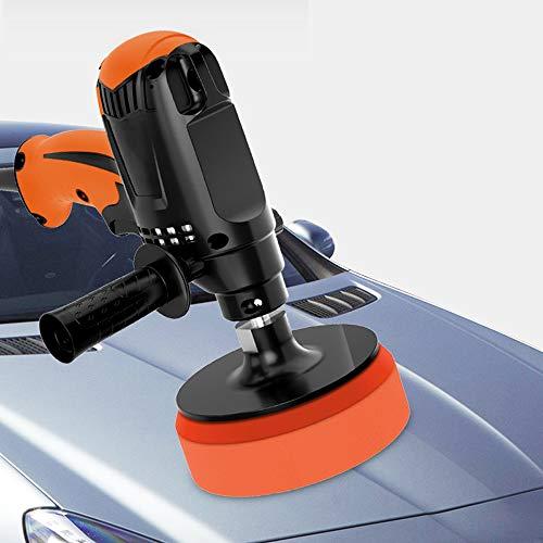 Elektrische Poliermaschine,980W Auto Polierer Sechs Gänge Einstellbare Geschwindigkeit Automobil Möbel Polierwerkzeug