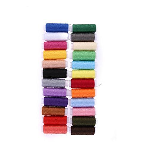 Everpert 24 couleurs différentes 182,9 m Polyester Broderie machine à coudre fils