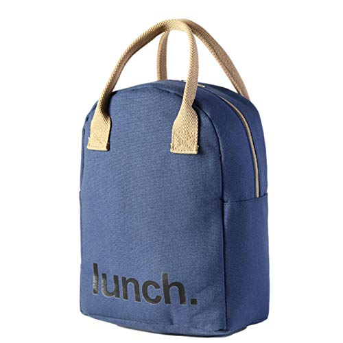 huiyingshe Bolsa de Almuerzo, Bolsa de Almuerzo con Aislamiento para niños y Adultos, Recipiente de Comida Reutilizable, Bolsa de Lona para Acampar, Viajar, Picnic