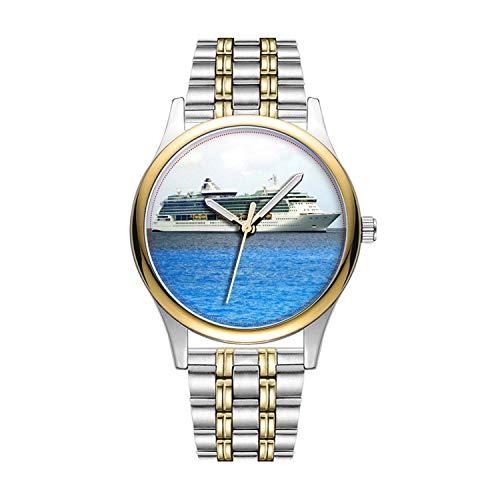 Personalisierte Minimalistische Brilliance in den Cayman-Wrist Uhren Goldene Fashion wasserdichte Sportuhr