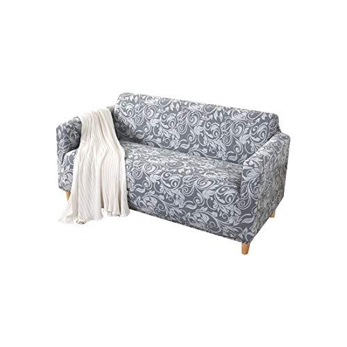 FORCHEER Rutschfeste abnehmbare Schutzhülle Raised Knitting Rhombus Gitter Party Chair Covers [Marineblau   1er-Set]