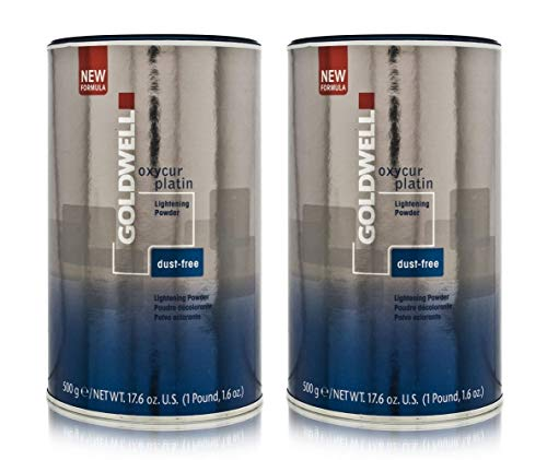 Goldwell 2 er Pack Goldwell Oxycur Platin Dustfree Bleach 500 g