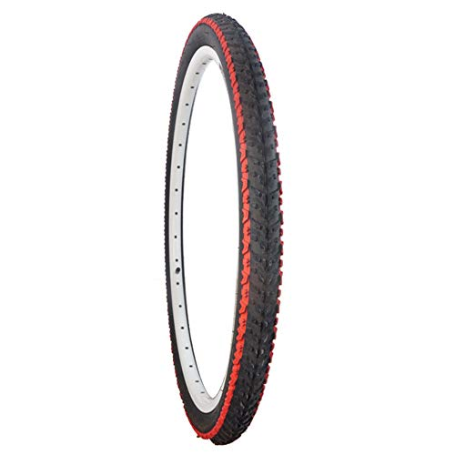 XIONGGG Solid Bicycle Tires, 26X1.95 Inch Explosion-Proof Tyre for Mountain Bike Cycling Accessory Replacement, 30TPI